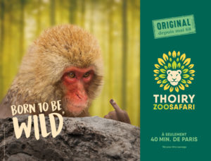 sauvage thoiry publicité wild 2